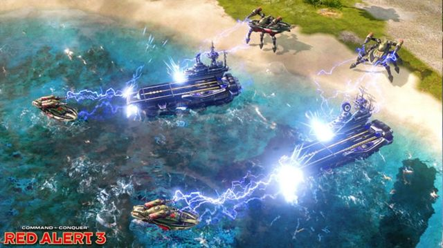 games similar to Command & Conquer: Red Alert 3