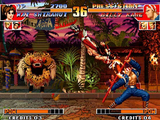games similar to THE KING OF FIGHTERS '97