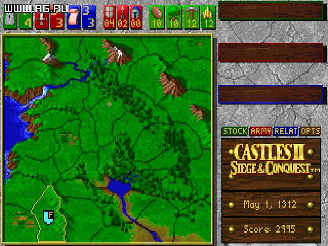 games similar to Castles II: Siege & Conquest