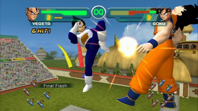 games similar to Dragon Ball Z: Budokai