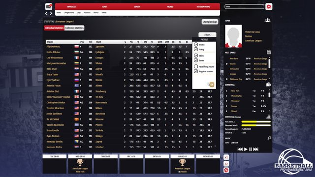 games similar to Basketball Pro Management 2015