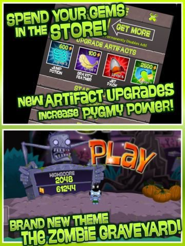 games similar to Pocket God: Ooga Jump
