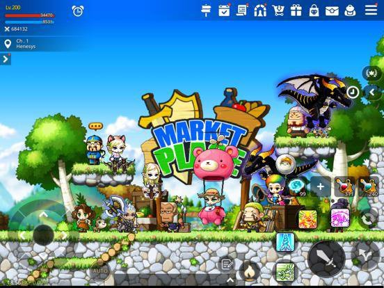 games similar to MapleStory M: Fantasy MMORPG
