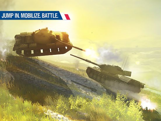 games similar to World of Tanks Blitz