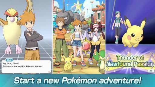 games similar to Pokémon Masters