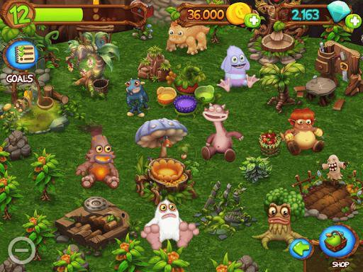 games similar to My Singing Monsters DawnOfFire