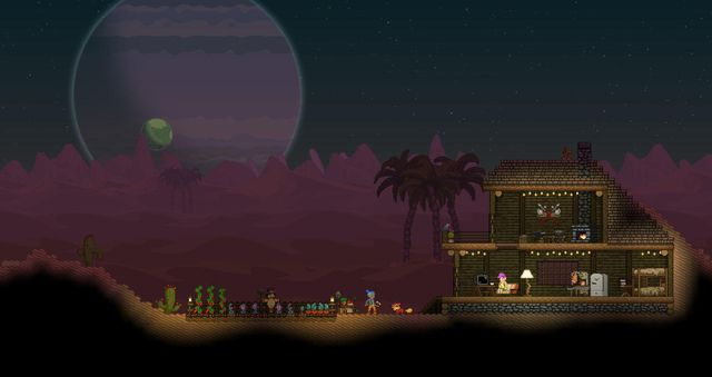games similar to Starbound