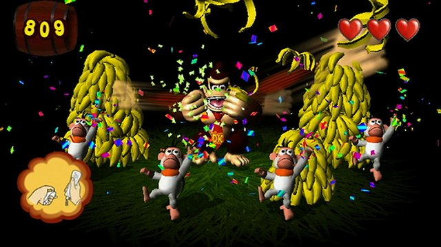 games similar to Donkey Kong Jungle Beat