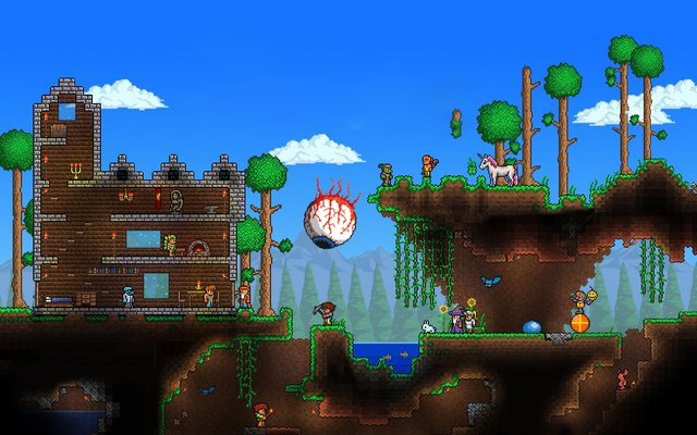 games similar to Terraria