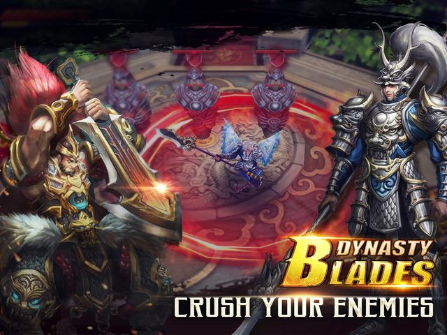 games similar to Dynasty Blades: Warriors MMO