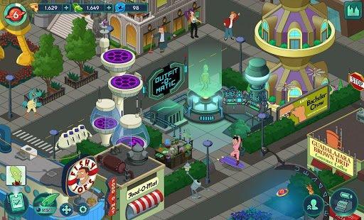 games similar to Futurama: Worlds of Tomorrow