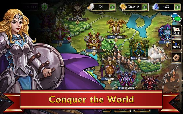games similar to Gems of War