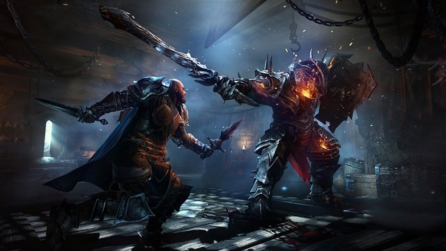 games similar to Lords of the Fallen