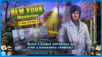 games similar to New York Mysteries 2: High Voltage
