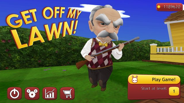 games similar to Get Off My Lawn!