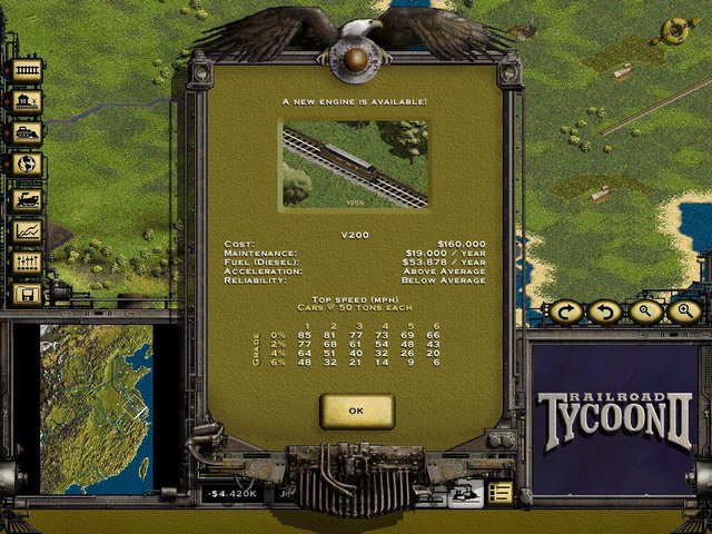 games similar to Railroad Tycoon II Platinum