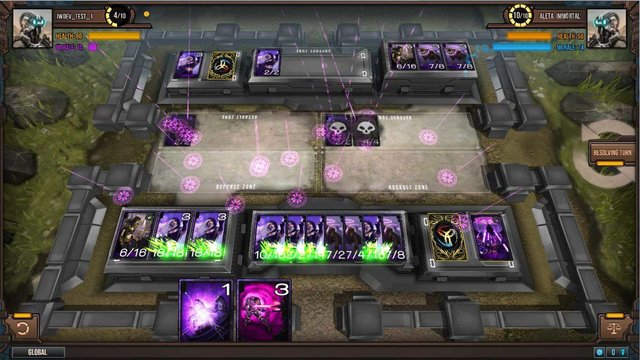 games similar to Infinity Wars: Animated Trading Card Game