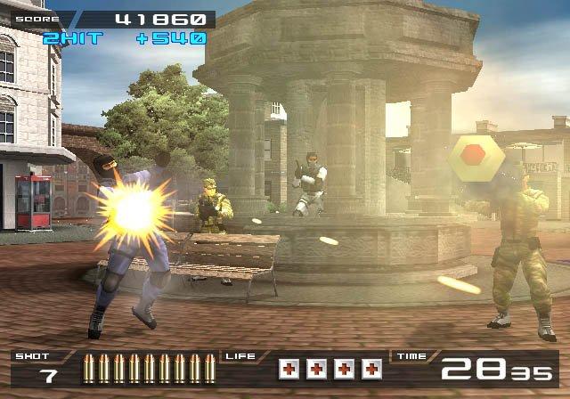 games similar to Time Crisis II