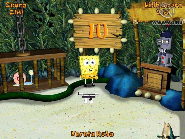games similar to SpongeBob SquarePants: Battle for Bikini Bottom