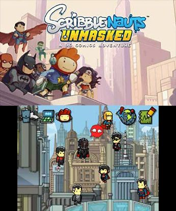games similar to Scribblenauts Unmasked: A DC Comics Adventure