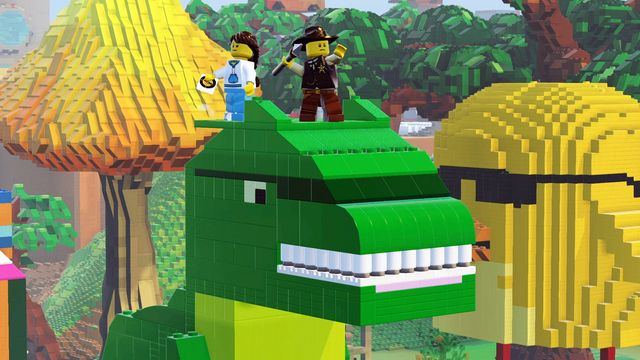games similar to LEGO Worlds