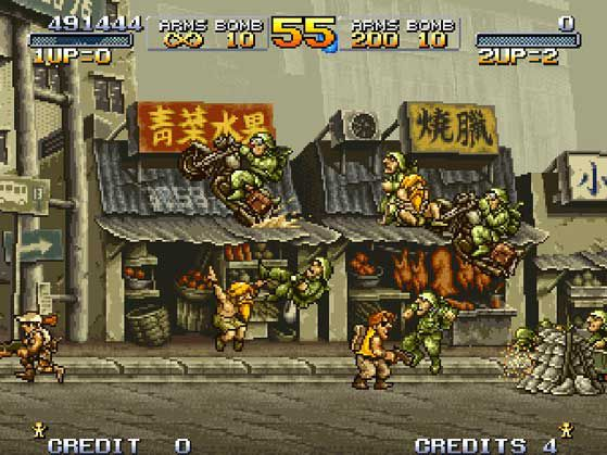 games similar to Metal Slug X