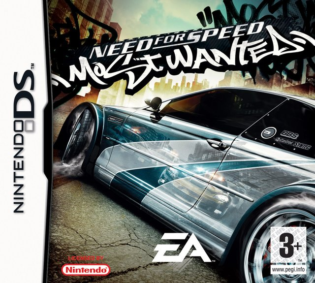 games similar to Need for Speed: Most Wanted (DS)