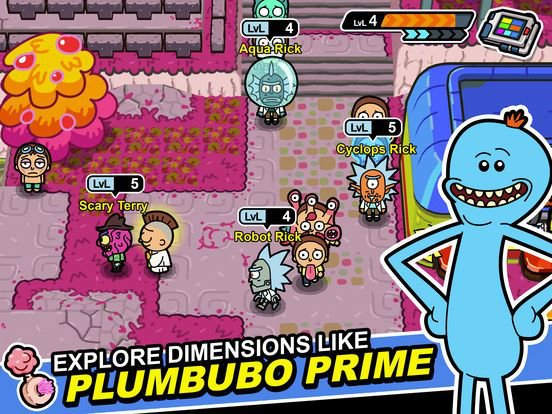 games similar to Rick and Morty: Pocket Mortys