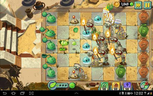 games similar to Plants vs. Zombies 2: It's About Time