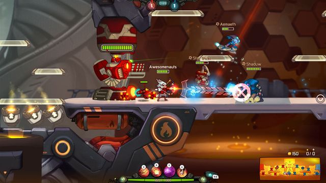 games similar to Awesomenauts Assemble!