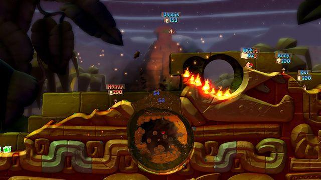 games similar to Worms Battlegrounds