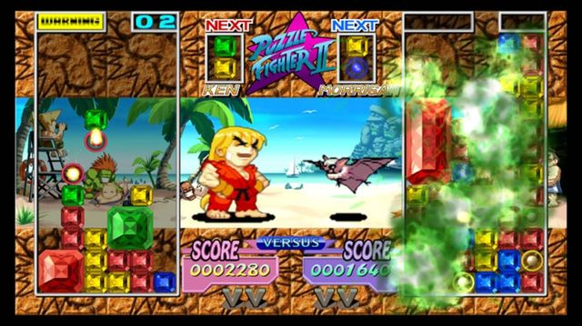games similar to Puzzle Fighter HD