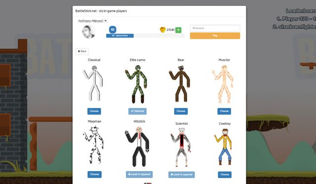 games similar to BattleStick