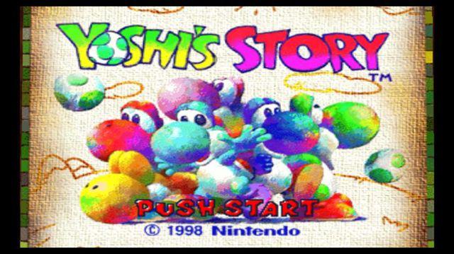 games similar to Yoshi's Story (1997)