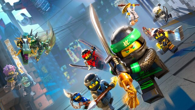 games similar to The LEGO NINJAGO Movie Video Game