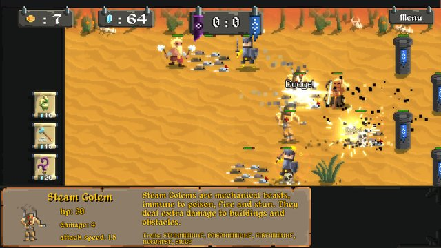 games similar to Army of Pixels