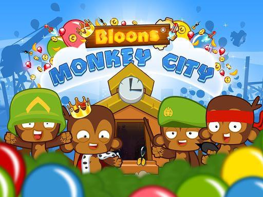 games similar to Bloons Monkey City