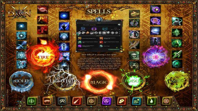 games similar to Legends of Dawn Reborn