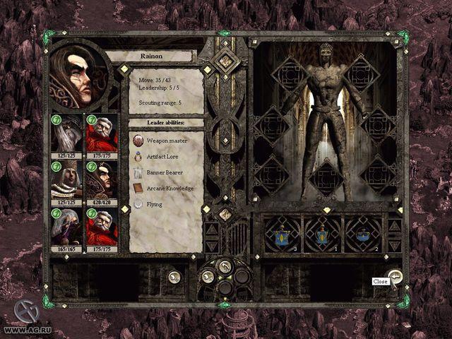 games similar to Disciples II: Gallean's Return