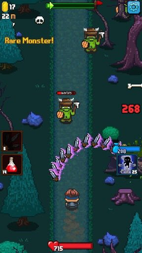 games similar to Dash Quest