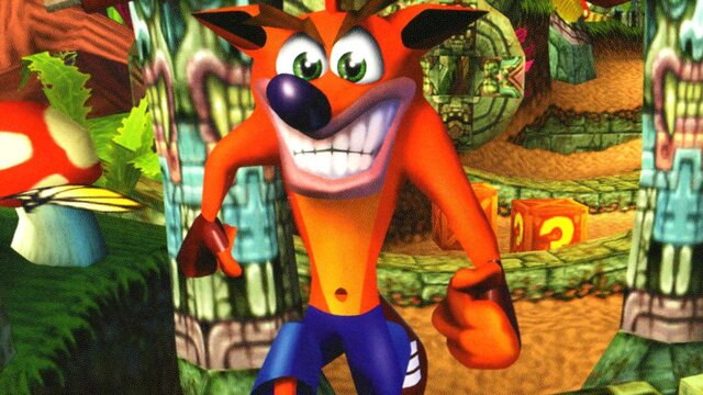 games similar to Crash Bandicoot
