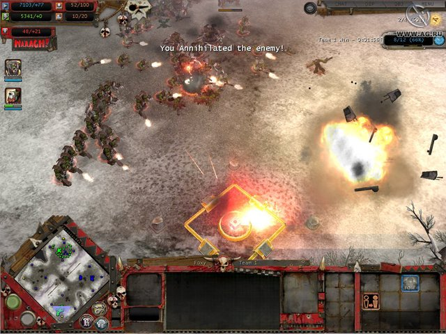 games similar to Warhammer 40,000: Dawn of War – Winter Assault
