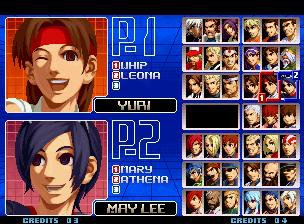 games similar to THE KING OF FIGHTERS 2002