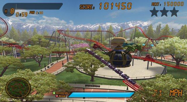 games similar to Roller Coaster Rampage