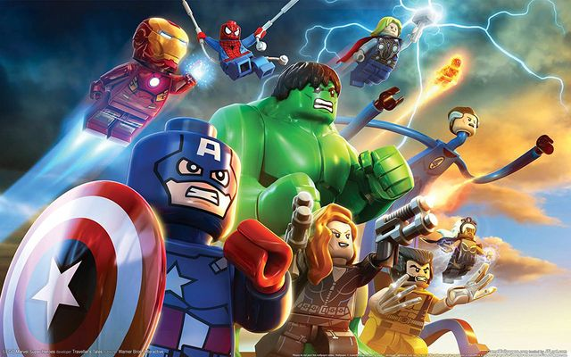 games similar to LEGO Marvel Super Heroes