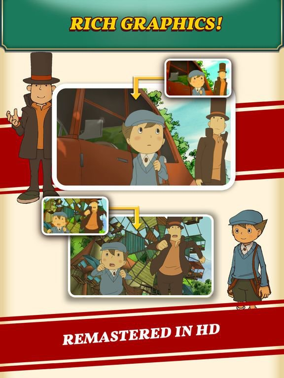 games similar to Professor Layton and the Curious Village