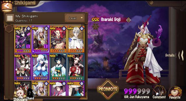 games similar to Onmyoji