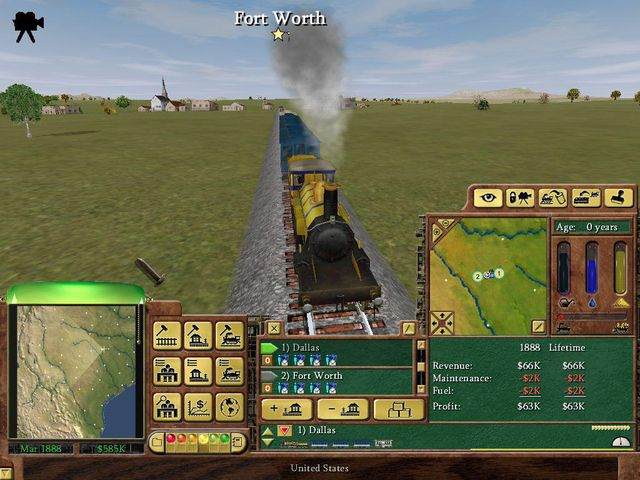 games similar to Railroad Tycoon 3