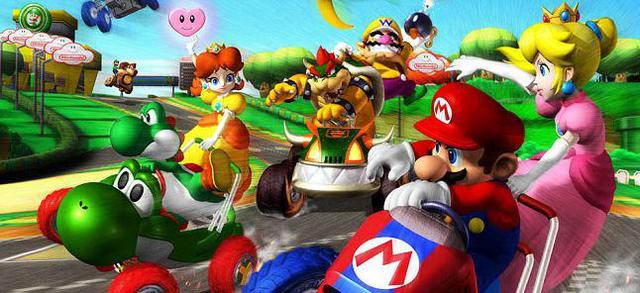 games similar to Mario Kart: Double Dash