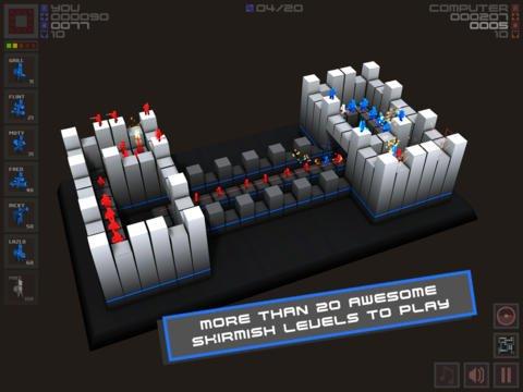 games similar to Cubemen